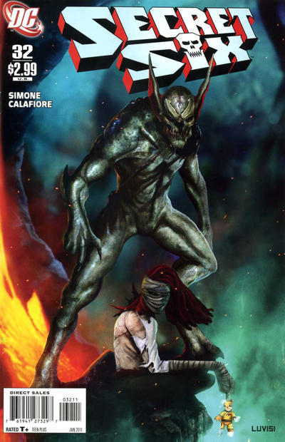 Cover for Secret Six (DC, 2008 series) #32