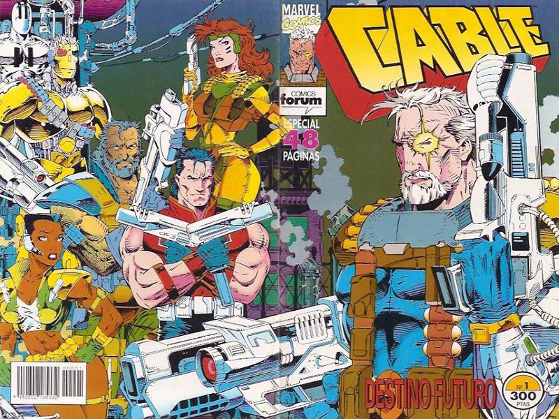 Cover for Cable (Planeta DeAgostini, 1994 series) #1