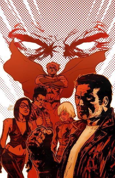 Cover for Incorruptible (Boom! Studios, 2009 series) #16 [Virgin Variant]