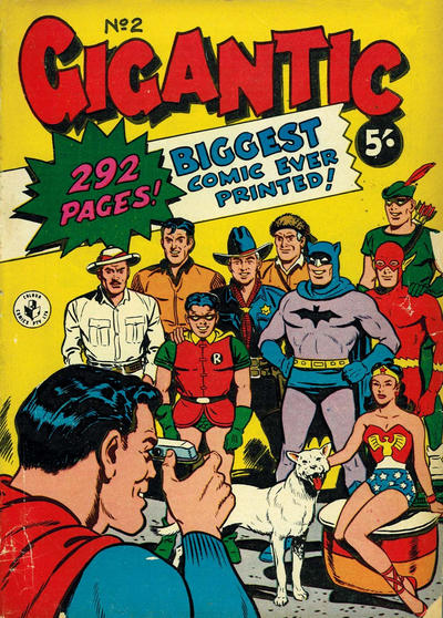 Cover for Gigantic Annual (K. G. Murray, 1958 series) #2