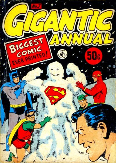 Cover for Gigantic Annual (K. G. Murray, 1958 series) #7