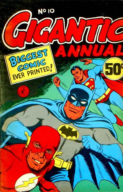 Cover for Gigantic Annual (K. G. Murray, 1958 series) #10