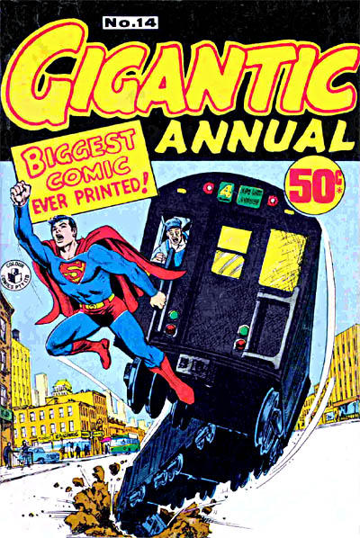 Cover for Gigantic Annual (K. G. Murray, 1958 series) #14