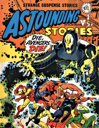 Cover for Astounding Stories (Alan Class, 1966 series) #77