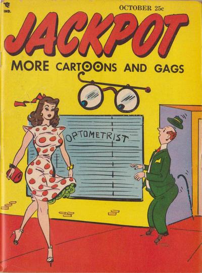 Cover for Jackpot (Youthful, 1952 series) #v1#11