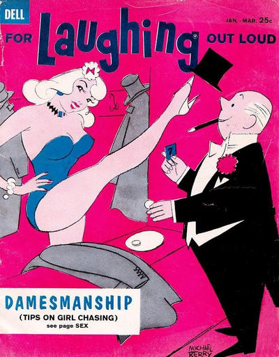 Cover for For Laughing Out Loud (Dell, 1956 series) #14