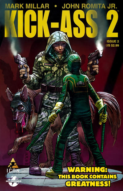 Cover for Kick-Ass 2 (Marvel, 2010 series) #2