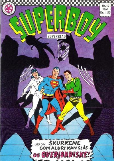 Cover for Superboy (Serieforlaget / Se-Bladene / Stabenfeldt, 1967 series) #10/1968
