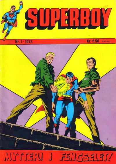 Cover for Superboy (Illustrerte Klassikere / Williams Forlag, 1969 series) #1/1973