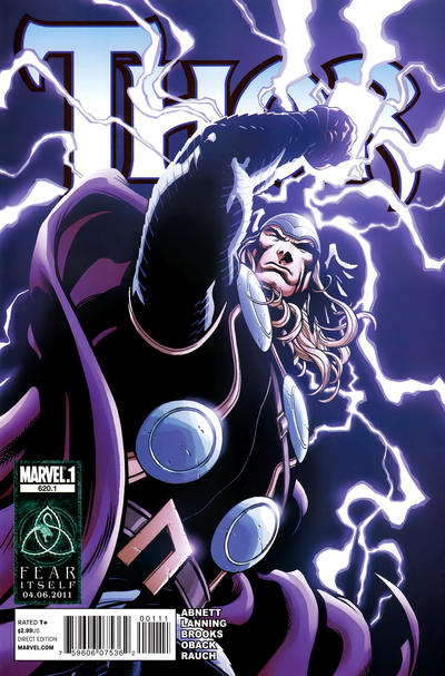 Cover for Thor (Marvel, 2007 series) #620.1