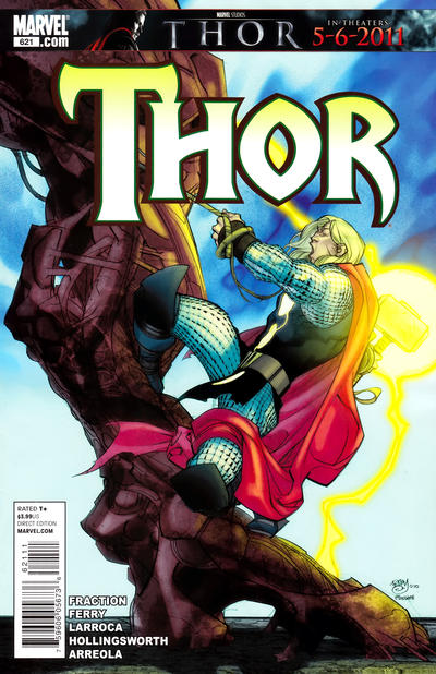 Cover for Thor (Marvel, 2007 series) #621