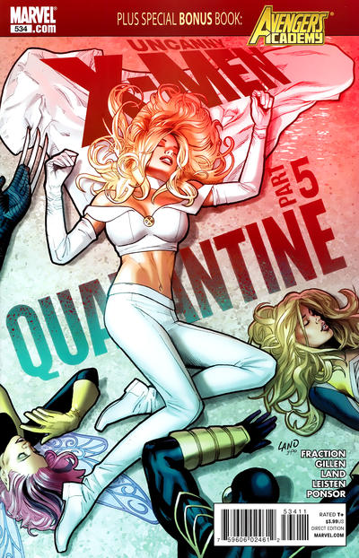 Cover for The Uncanny X-Men (Marvel, 1981 series) #534 [WonderCon Exclusive]