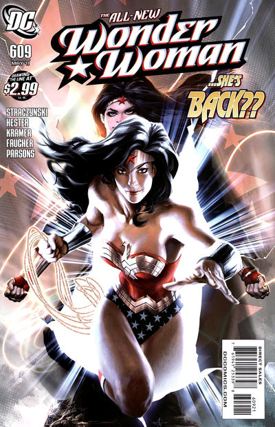 Cover for Wonder Woman (DC, 2006 series) #609