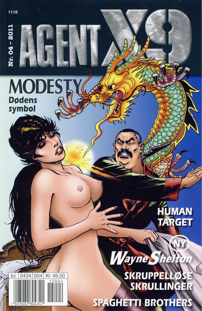 Cover for Agent X9 (Hjemmet / Egmont, 1998 series) #4/2011