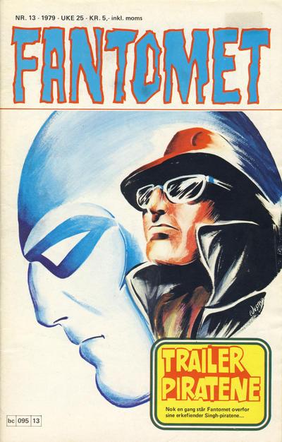 Cover for Fantomet (Semic, 1976 series) #13/1979