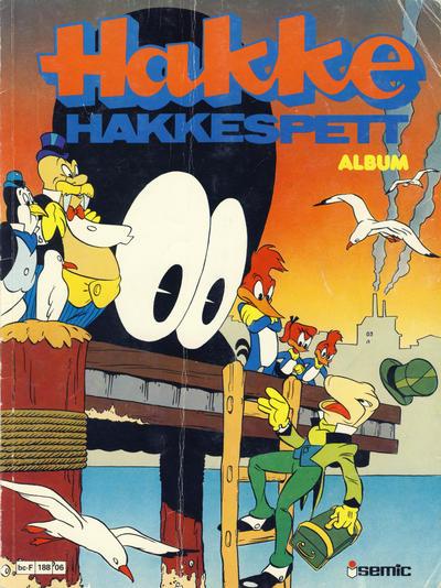 Cover for Hakke Hakkespett album (Semic, 1979 series) #06