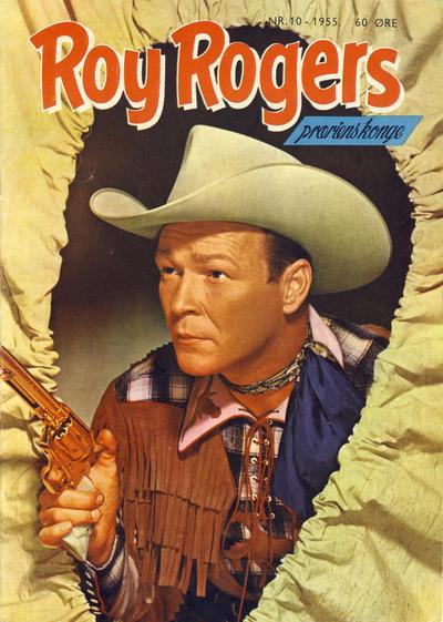 Cover for Roy Rogers (Serieforlaget / Se-Bladene / Stabenfeldt, 1954 series) #10/1955