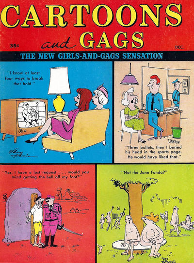 Cover for Cartoons and Gags (Marvel, 1959 series) #v10#6