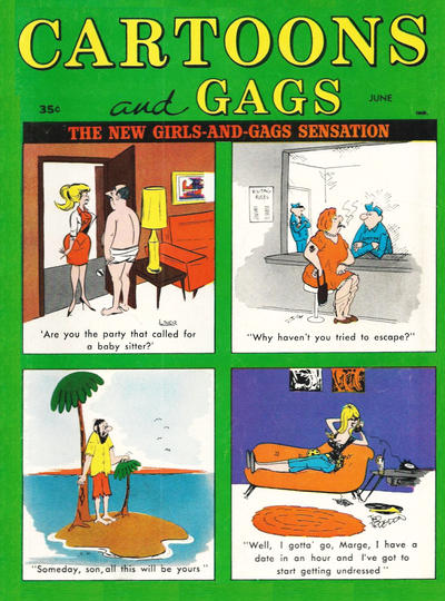 Cover for Cartoons and Gags (Marvel, 1959 series) #v10#3