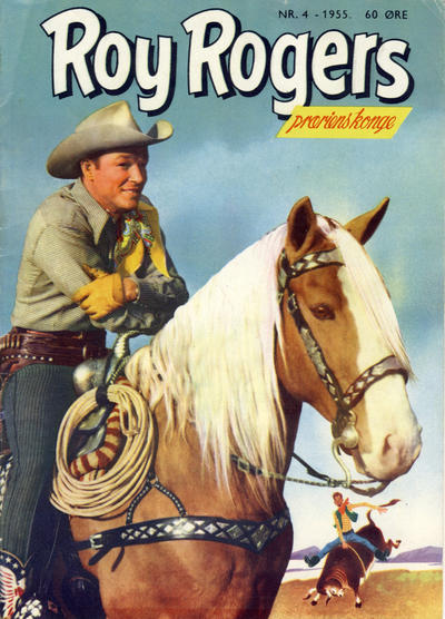 Cover for Roy Rogers (Serieforlaget / Se-Bladene / Stabenfeldt, 1954 series) #4/1955
