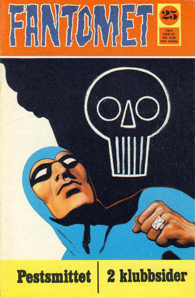 Cover for Fantomet (Romanforlaget, 1966 series) #25/1971