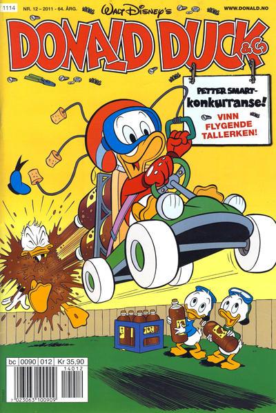 Cover for Donald Duck & Co (Hjemmet / Egmont, 1948 series) #12/2011