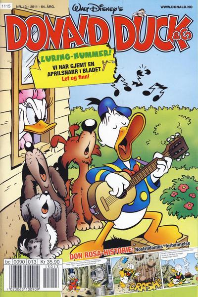 Cover for Donald Duck & Co (Hjemmet / Egmont, 1948 series) #13/2011