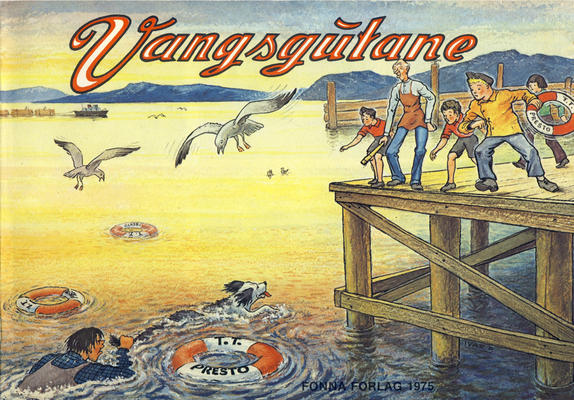 Cover for Vangsgutane (Fonna Forlag, 1941 series) #1975