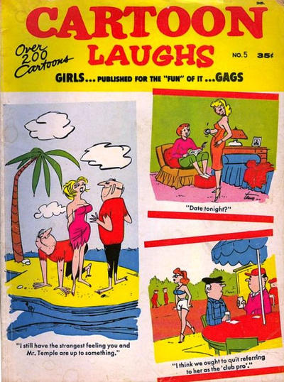 Cover for Cartoon Laughs (Marvel, 1962 series) #5