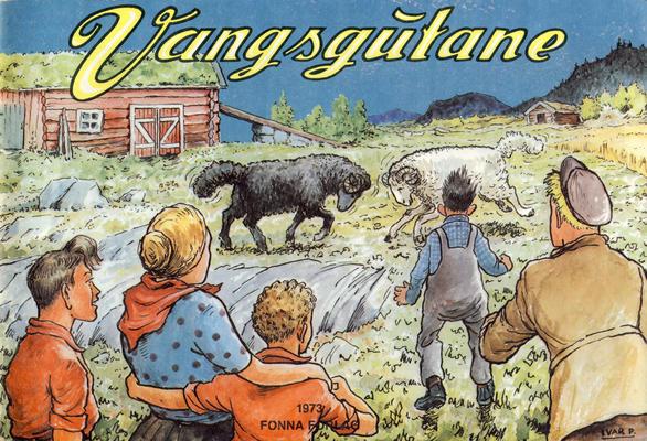Cover for Vangsgutane (Fonna Forlag, 1941 series) #1973