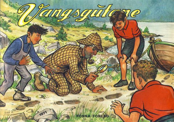 Cover for Vangsgutane (Fonna Forlag, 1941 series) #1971