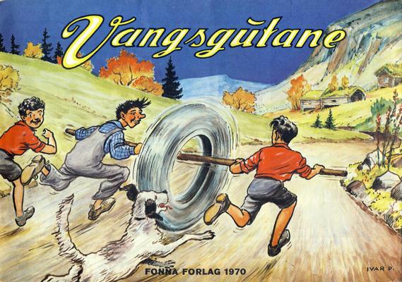 Cover for Vangsgutane (Fonna Forlag, 1941 series) #1970