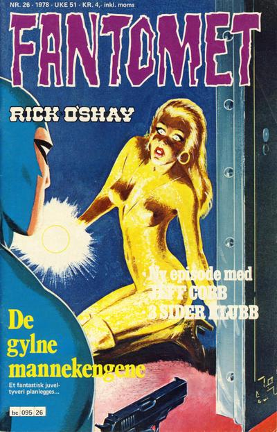 Cover for Fantomet (Semic, 1976 series) #26/1978