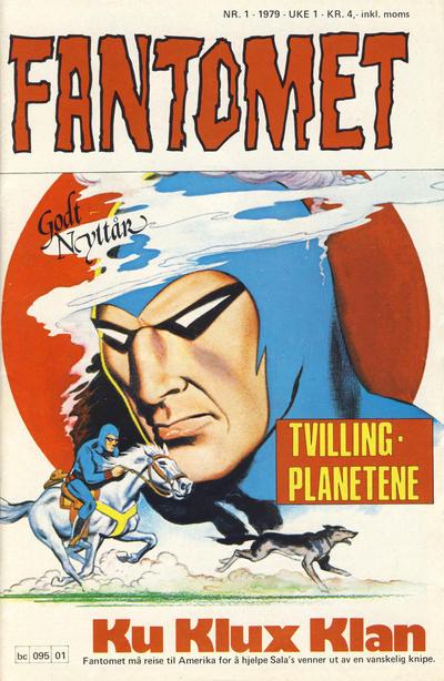 Cover for Fantomet (Semic, 1976 series) #1/1979