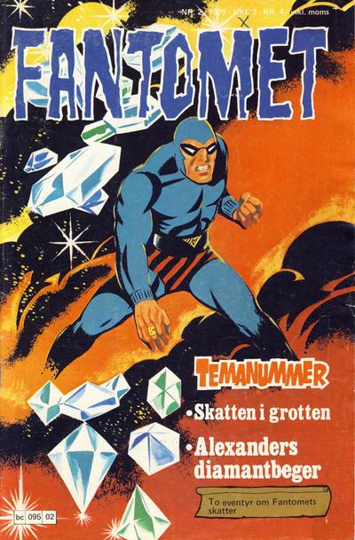 Cover for Fantomet (Semic, 1976 series) #2/1979