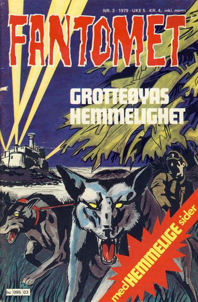 Cover for Fantomet (Semic, 1976 series) #3/1979