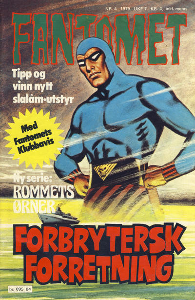 Cover for Fantomet (Semic, 1976 series) #4/1979