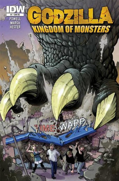 Cover for Godzilla: Kingdom of Monsters (IDW, 2011 series) #1 [Super-Fly Comics & Games Cover]