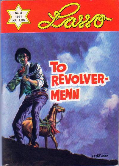 Cover for Lasso (Serieforlaget / Se-Bladene / Stabenfeldt, 1962 series) #3/1971