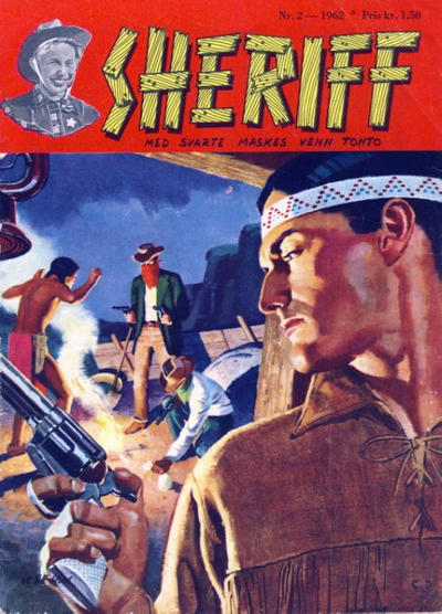 Cover for Sheriff (Serieforlaget / Se-Bladene / Stabenfeldt, 1959 series) #2/1962