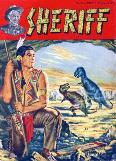 Cover for Sheriff (Serieforlaget / Se-Bladene / Stabenfeldt, 1959 series) #1/1962