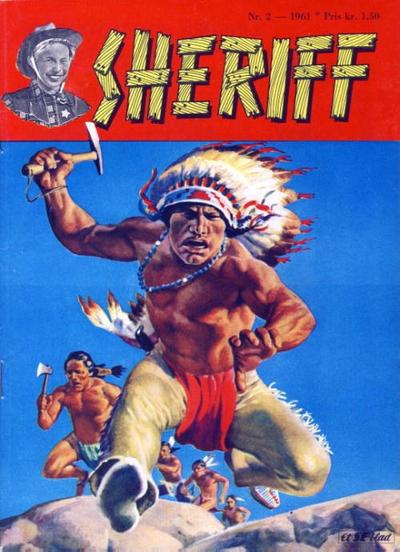 Cover for Sheriff (Serieforlaget / Se-Bladene / Stabenfeldt, 1959 series) #2/1961
