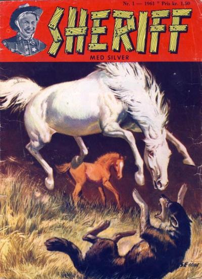 Cover for Sheriff (Serieforlaget / Se-Bladene / Stabenfeldt, 1959 series) #1/1961