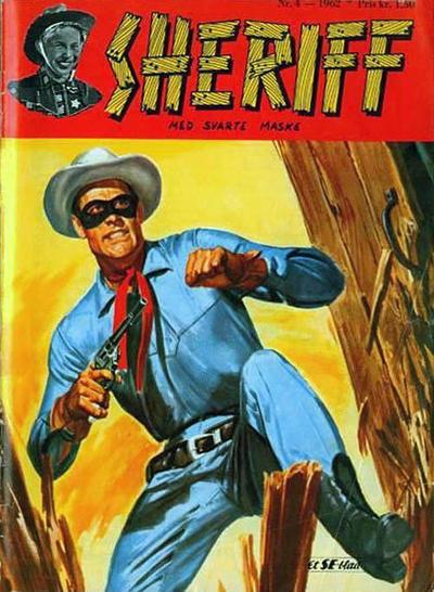 Cover for Sheriff (Serieforlaget / Se-Bladene / Stabenfeldt, 1959 series) #4/1962