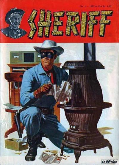 Cover for Sheriff (Serieforlaget / Se-Bladene / Stabenfeldt, 1959 series) #3/1960