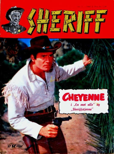 Cover for Sheriff (Serieforlaget / Se-Bladene / Stabenfeldt, 1959 series) #2/1960