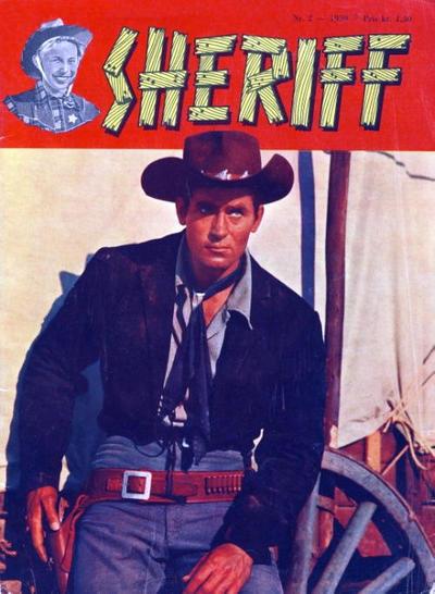 Cover for Sheriff (Serieforlaget / Se-Bladene / Stabenfeldt, 1959 series) #2/1959