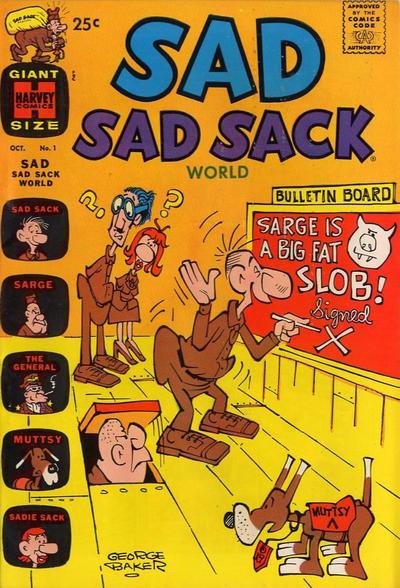 Cover for Sad Sad Sack World (Harvey, 1964 series) #1