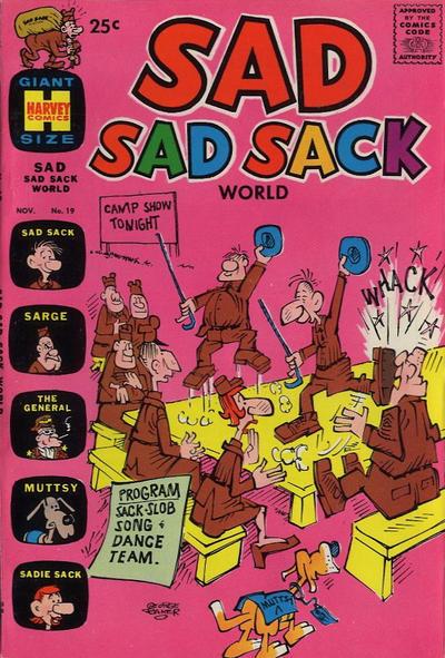 Cover for Sad Sad Sack World (Harvey, 1964 series) #19