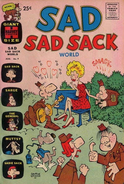 Cover for Sad Sad Sack World (Harvey, 1964 series) #9